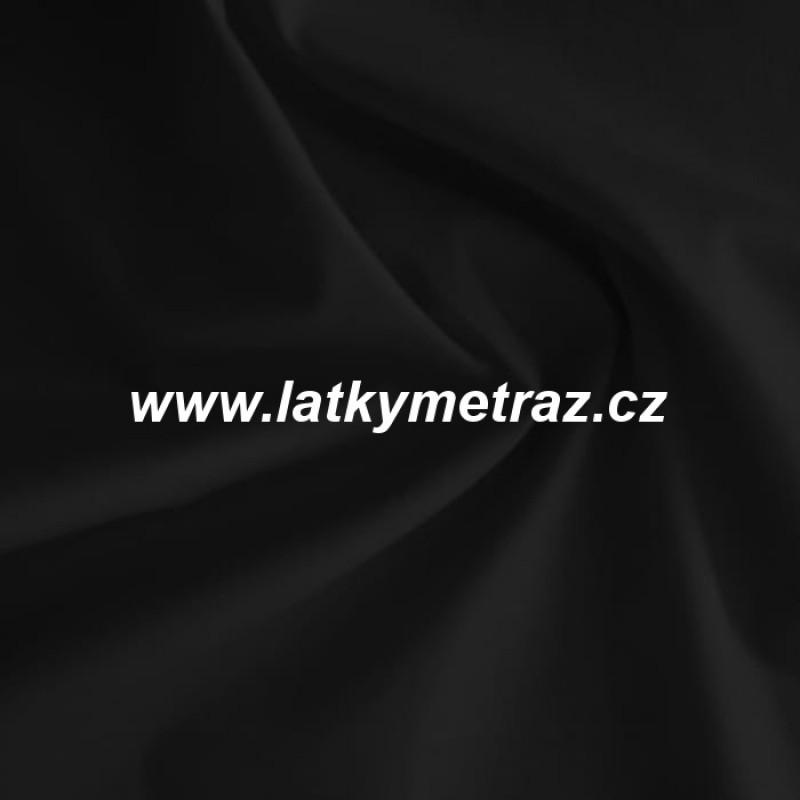 batohovina-cordura s PVC zátěrem-černá jednobarevná