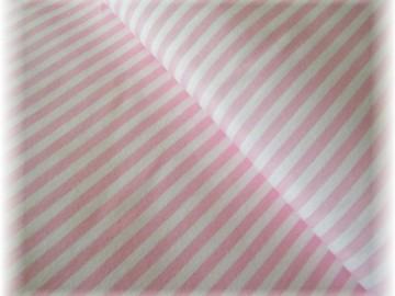růžovo-bílý proužek
