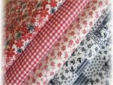balíček látek pro patchwork-4 x 50 cm