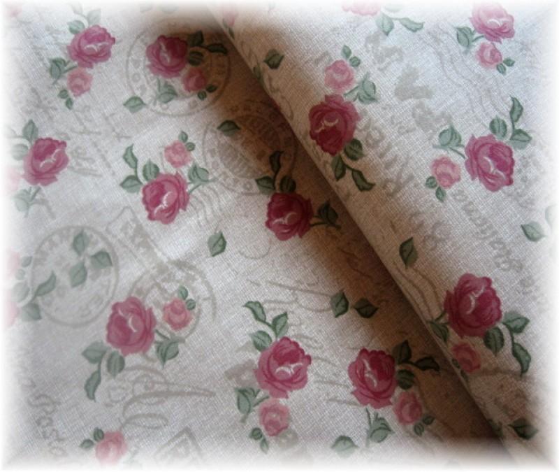drobné růže na šedorežném-zbytek 40 cm