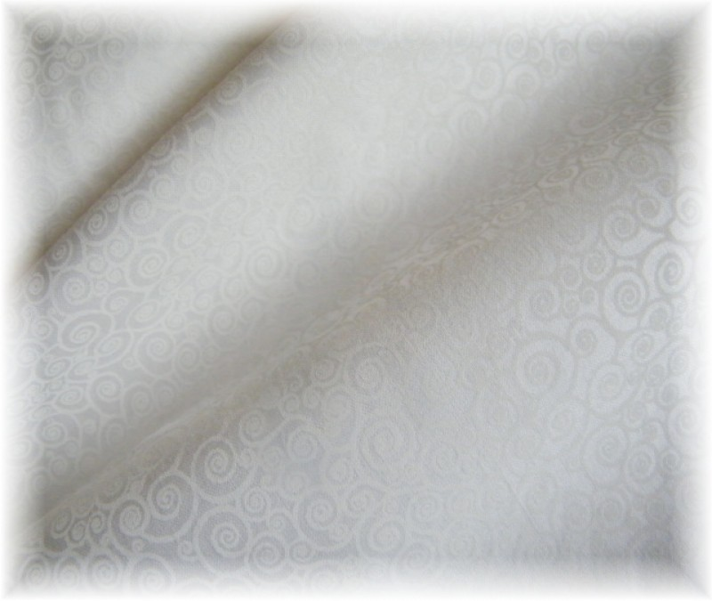 bílá na bílé-ulity-zbytek 1,40 m