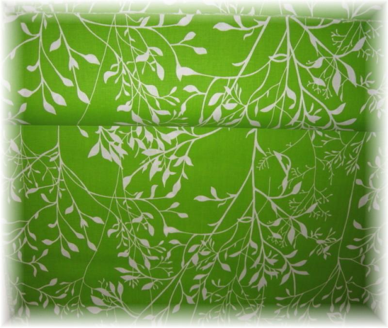 lístečky na zeleném-zbytek 25 cm