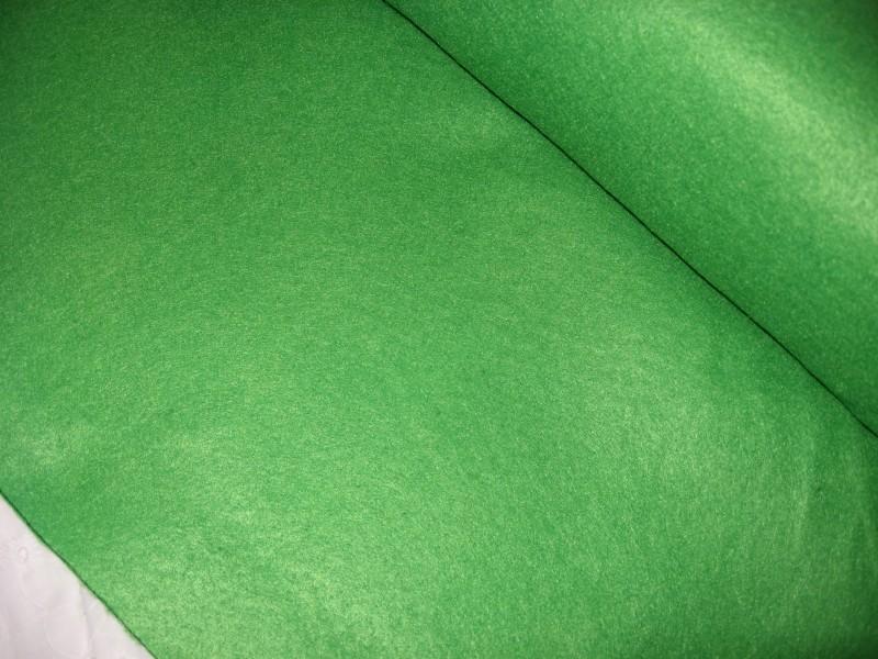 zelená plsť