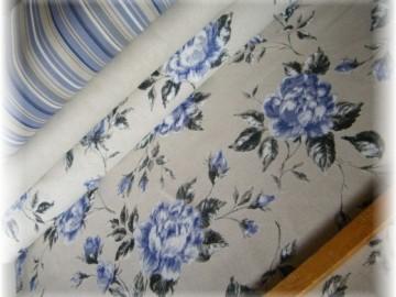80% bavlna + 20% pes-modré růže