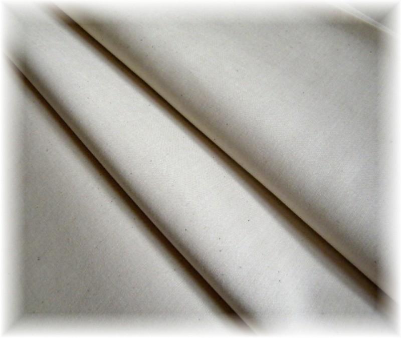 jednobarevná-přírodní NATUR-zbytek 98 cm