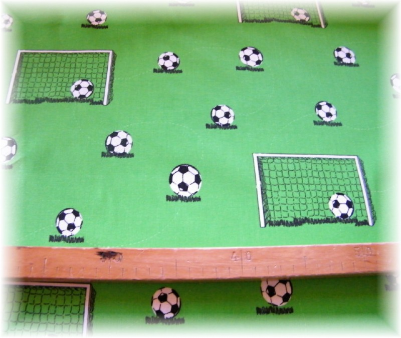 fotbalové branky + míč-zbytek 20 cm