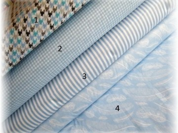 modrá kolekce-proužek č.3