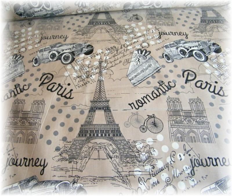 Paříž béžová