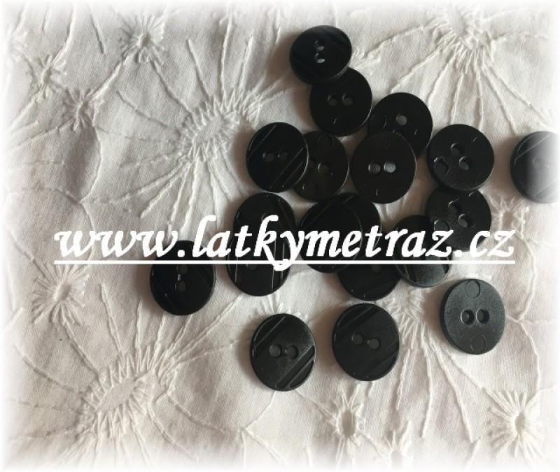 knoflíky-černé