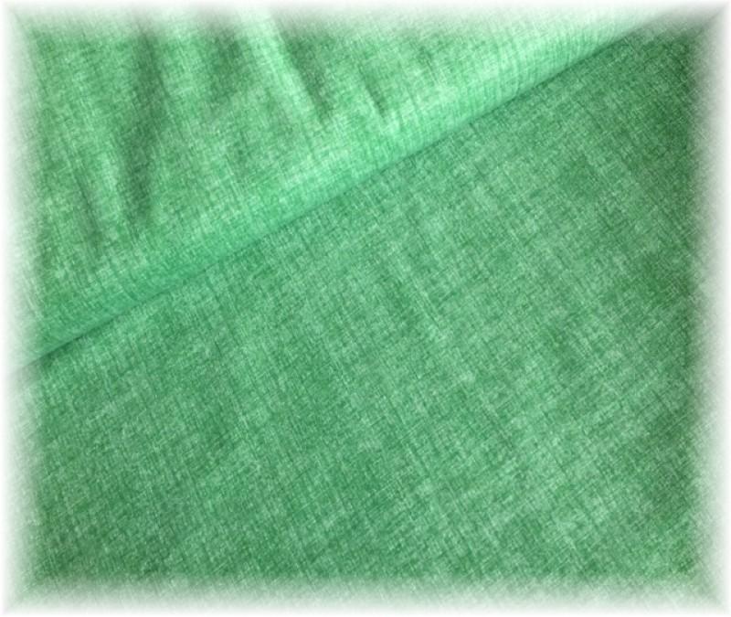 lněná půda-zelená tmavší jednobarevná