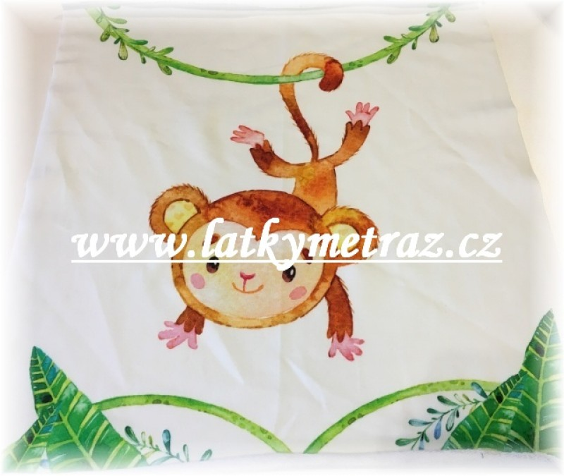 úplet-panel opice