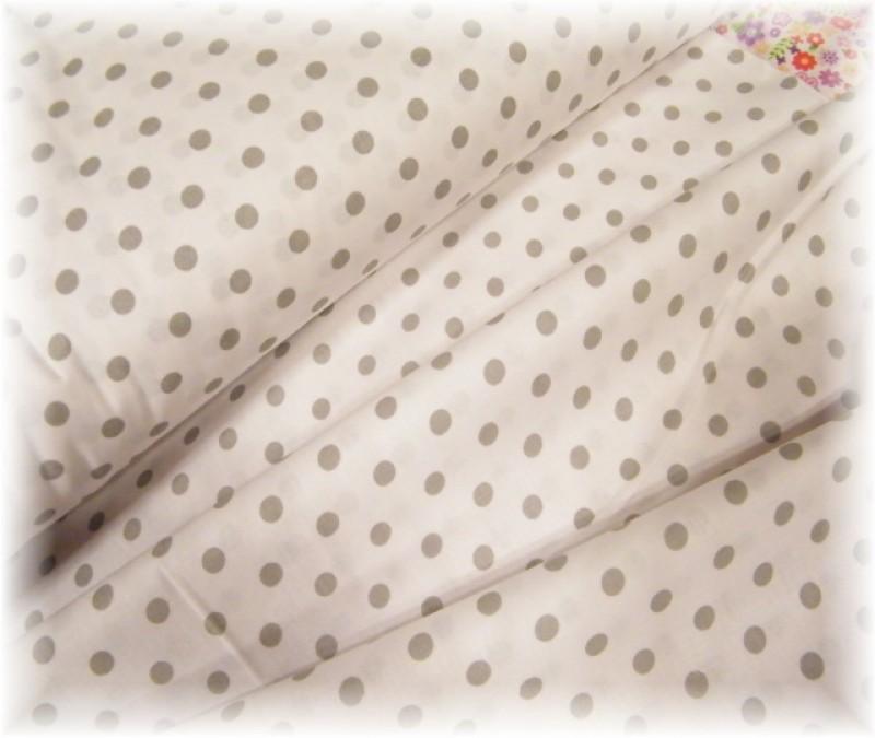 šedá-šedý puntík-zbytek 20 cm