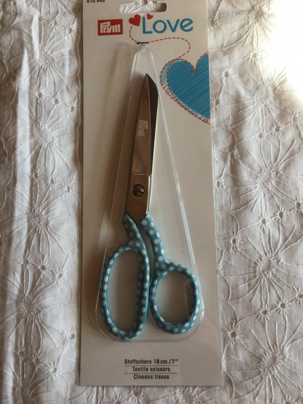 krejčovské nůžky 18 cm prym love
