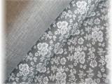 balíček látek 2  x  1 m-šedý pro patchwork