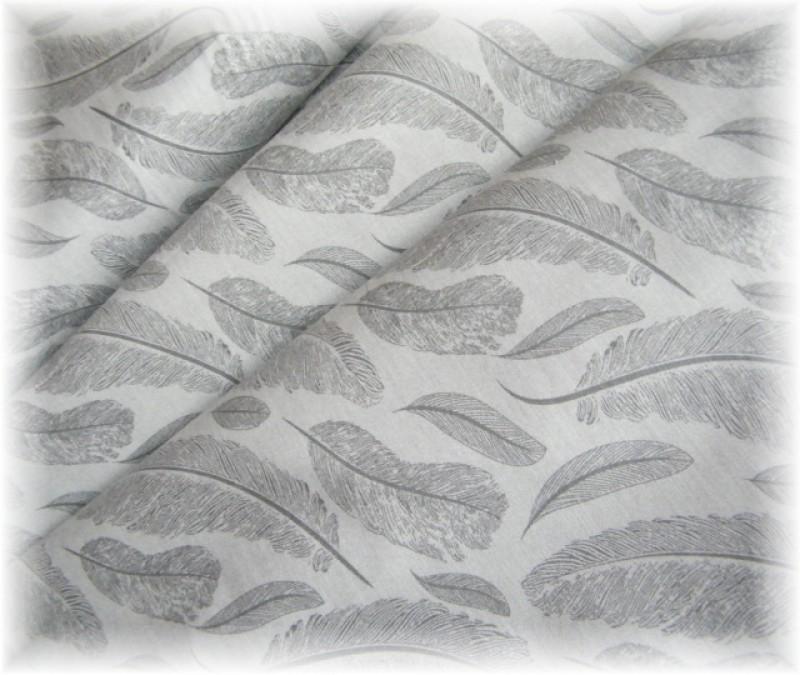 peříčka-světle šedé-zbytek 35 cm