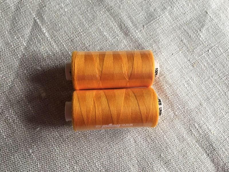 unipoly-žluto oranžové nitě č.178