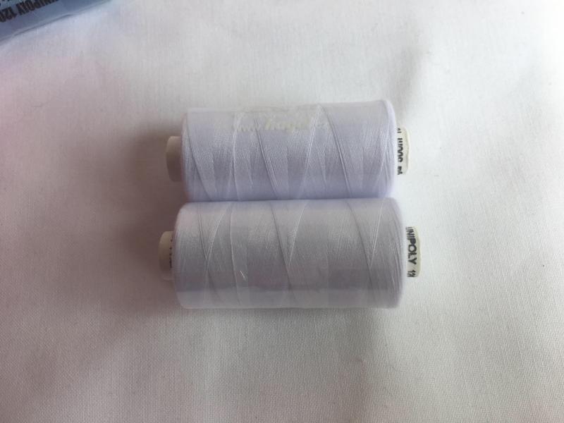 unipoly-bílé nitě č.001