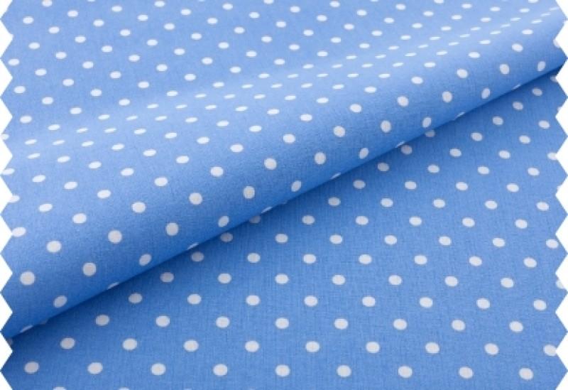 bílý puntík na provance blue
