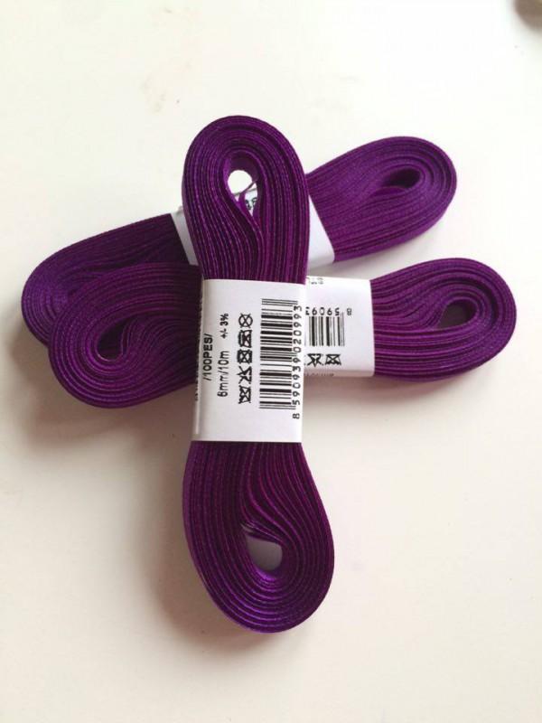 taftová stuha-fialová tmavá