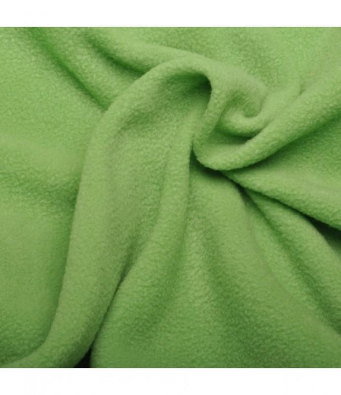 fleece-antipiling-světle zelený