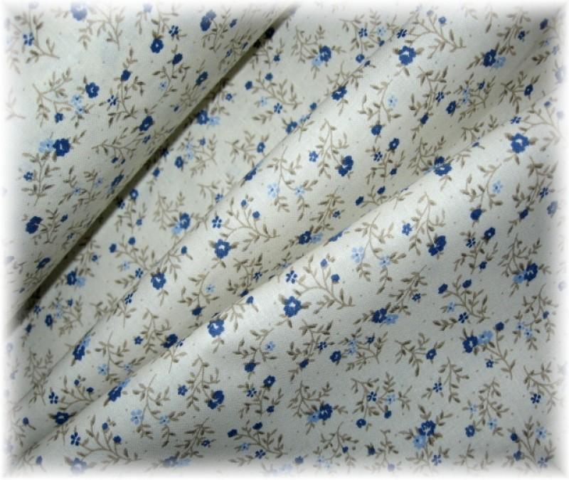 modré drobné kvítí-poslední 1 m