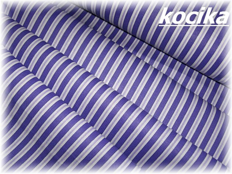 fialový pruh-zbytek 49 cm