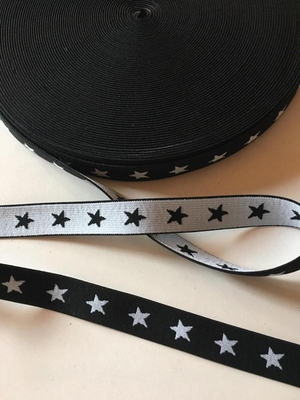 pruženka hvězdy 20 mm-černá