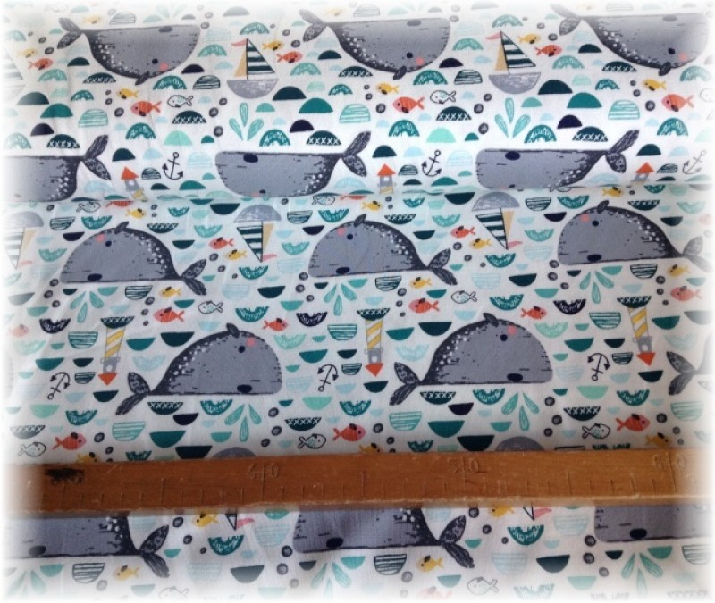 Jersey úplet-moře a velryby č.2