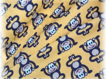 Jersey úplet-opice na žlutooranžové