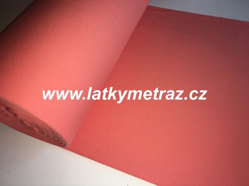 teplákovina-lososová-zbytek 19 cm