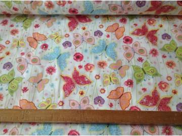 motýli pestrobarevní-zbytek 40 cm