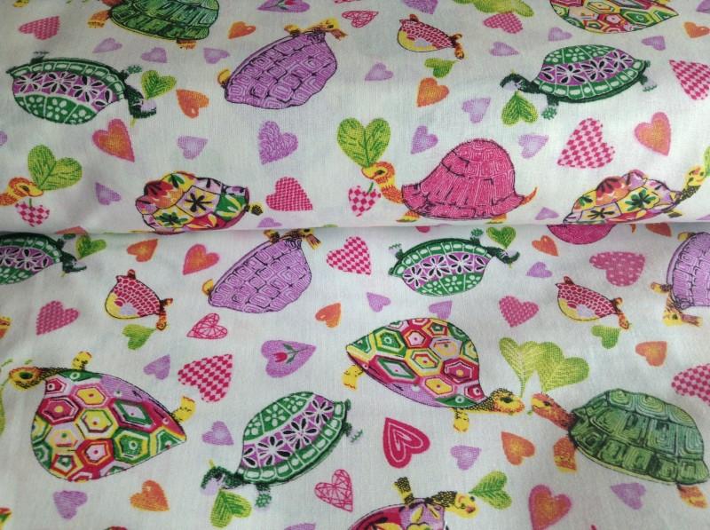 barevné želvičky-zbytek 48 cm