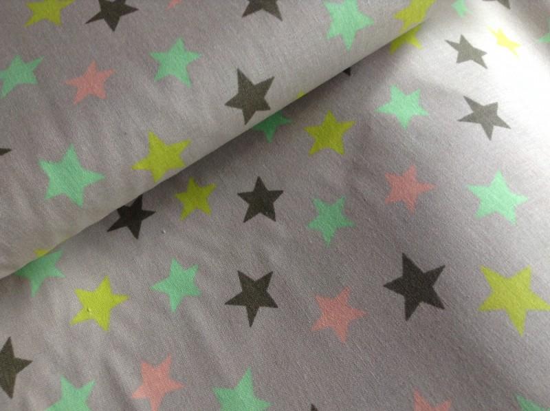 kolekce barevná-hvězdičky-zbytek 28 cm
