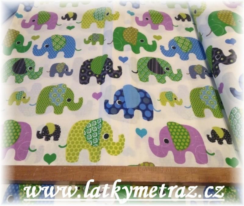 sloni č.1 -10 metrů