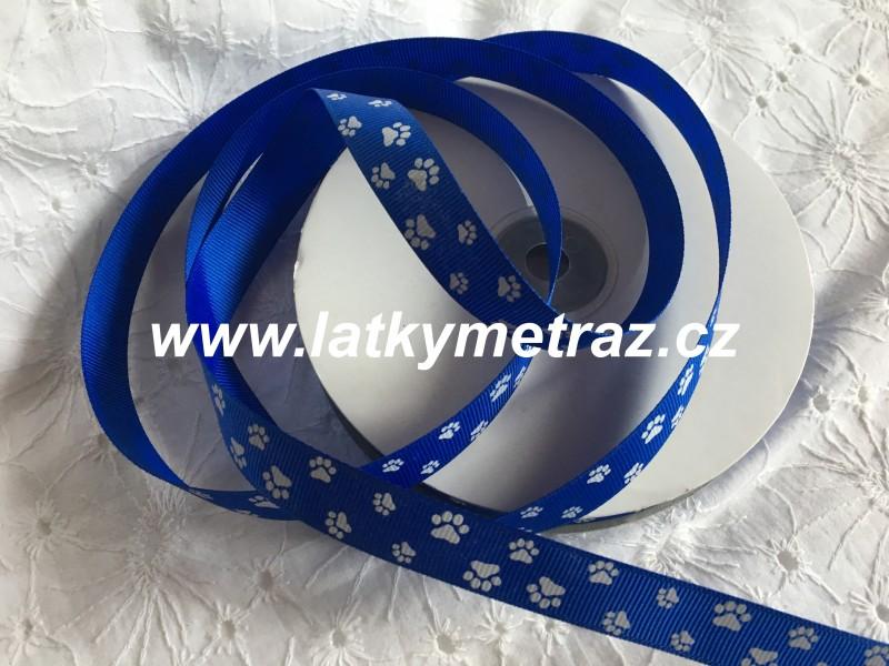 rypsová stuha-modrá šíře 15 mm