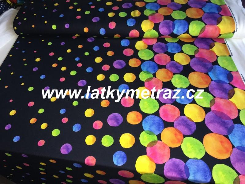 úplet puntíky bordura-zbytek 40 cm