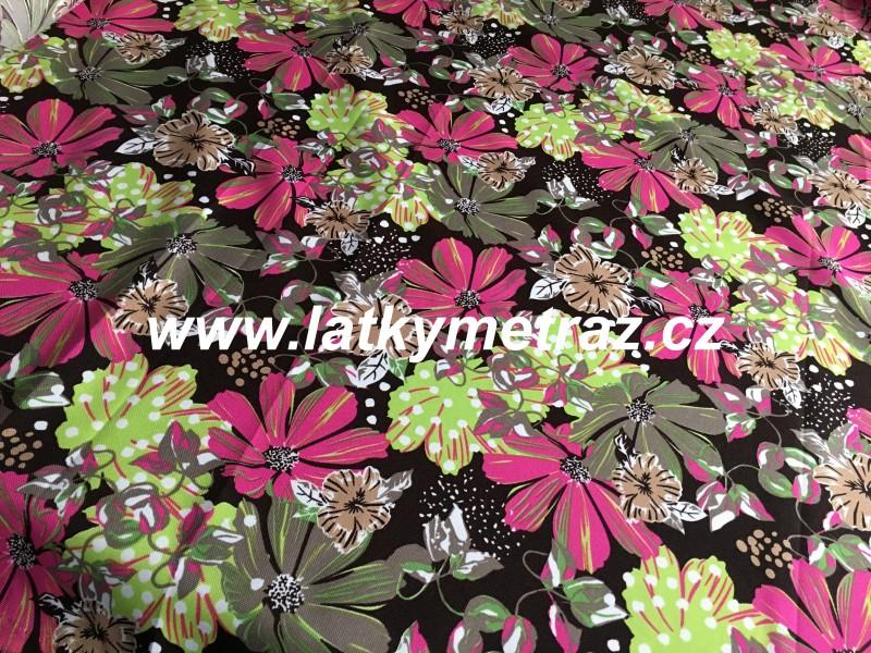 kočárkovina--kytky malinové