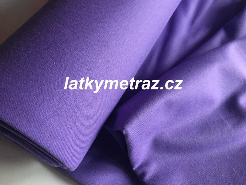teplákovina-fialová