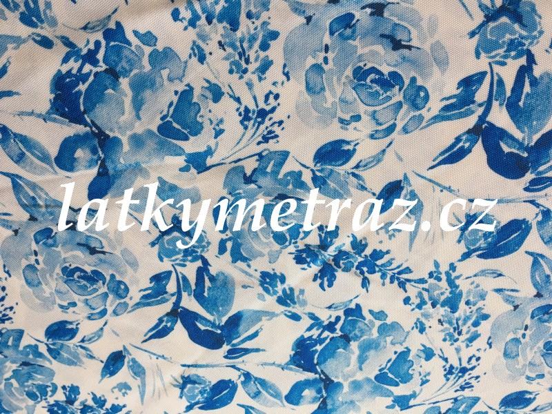 kočárkovina-modrá