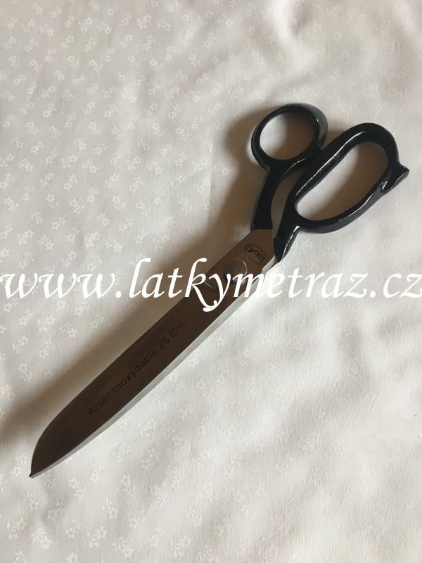 nůžky kovové krejčovské 26 cm