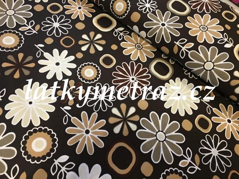 kočárkovina-kytky-hnědé-zbytek 80 cm