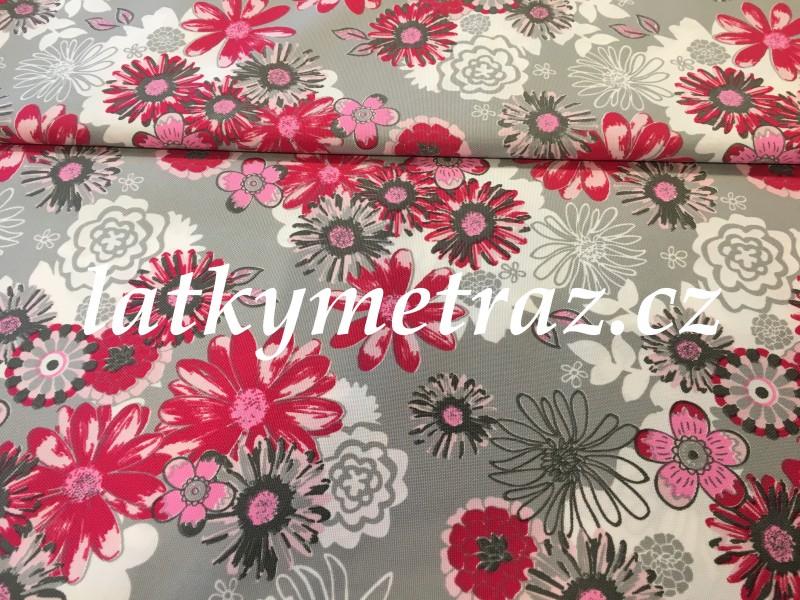 kočárkovina-kytky-šedo-červené