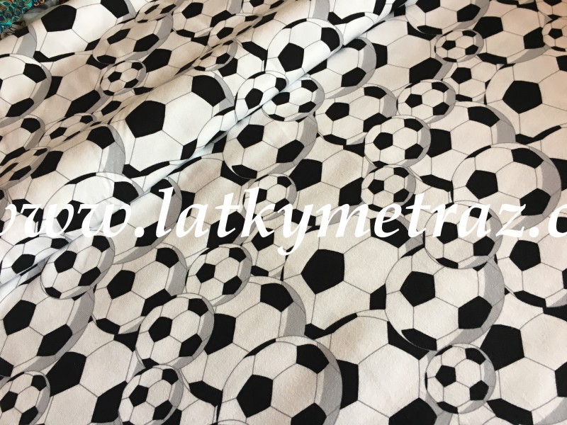 úplet-fotbalové balony-zbytek 14 cm
