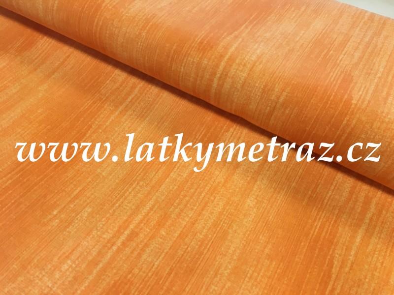 látka-oranžová uni
