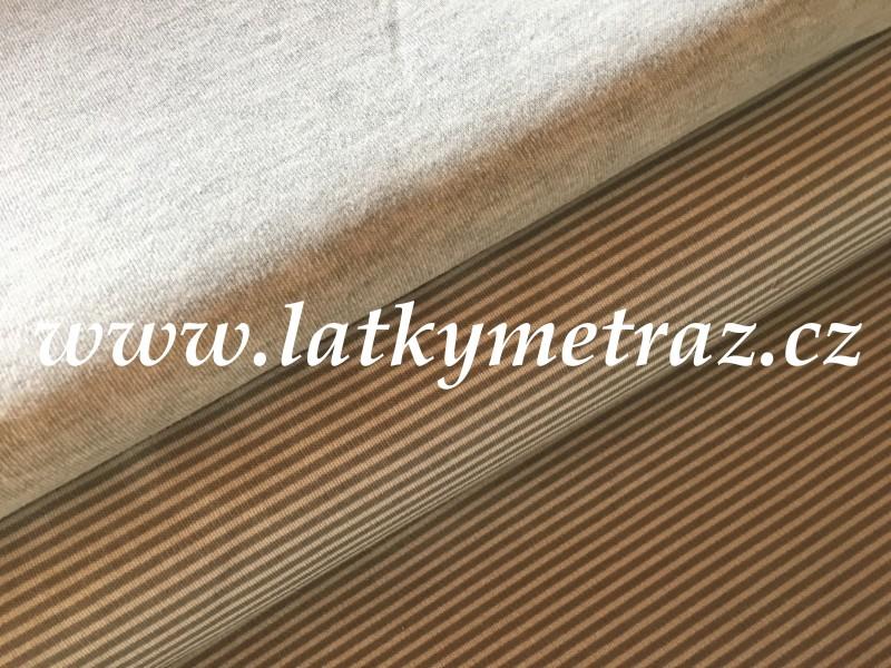 kolekce úplet-šedá jednobarevná-zbytek 95 cm