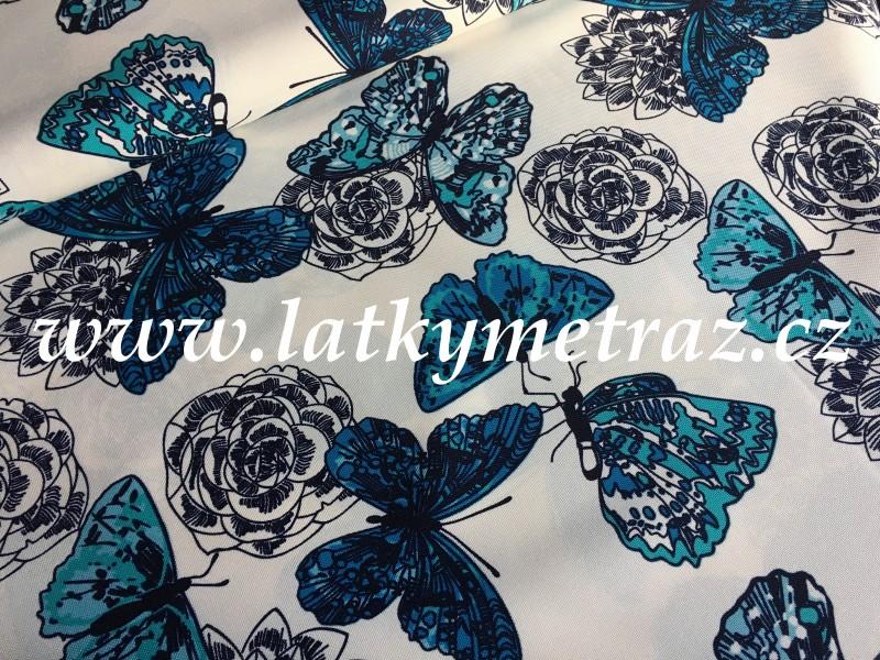 kočárkovina-motýli
