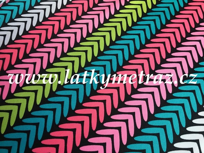 kočárkovina-barevná-zbytek 40 cm