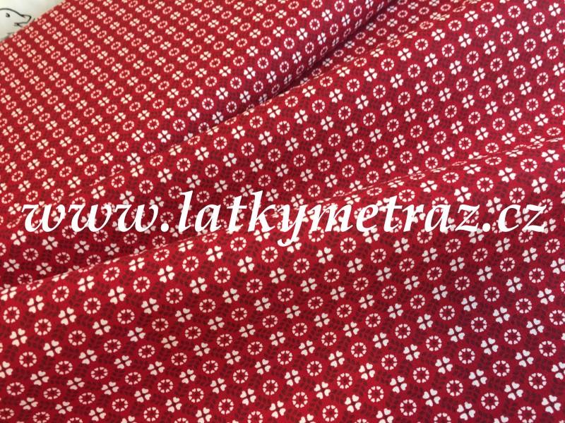 kolekce červená-vzory
