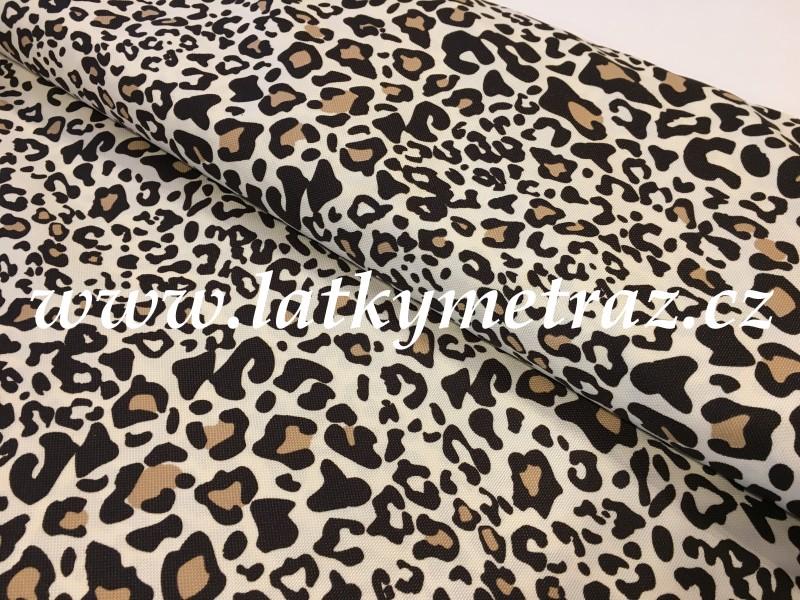kočárkovina-leopardí vzor