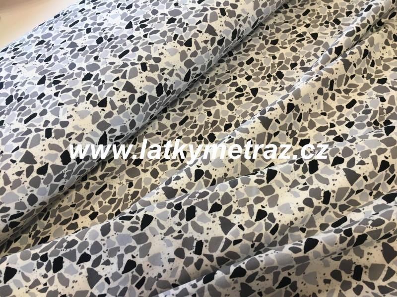 úplet-šedá mozaika-zbytek 24 cm